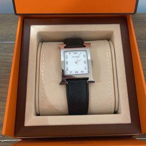Hermès Heure H Watch, 30.5 x 30.5 MM